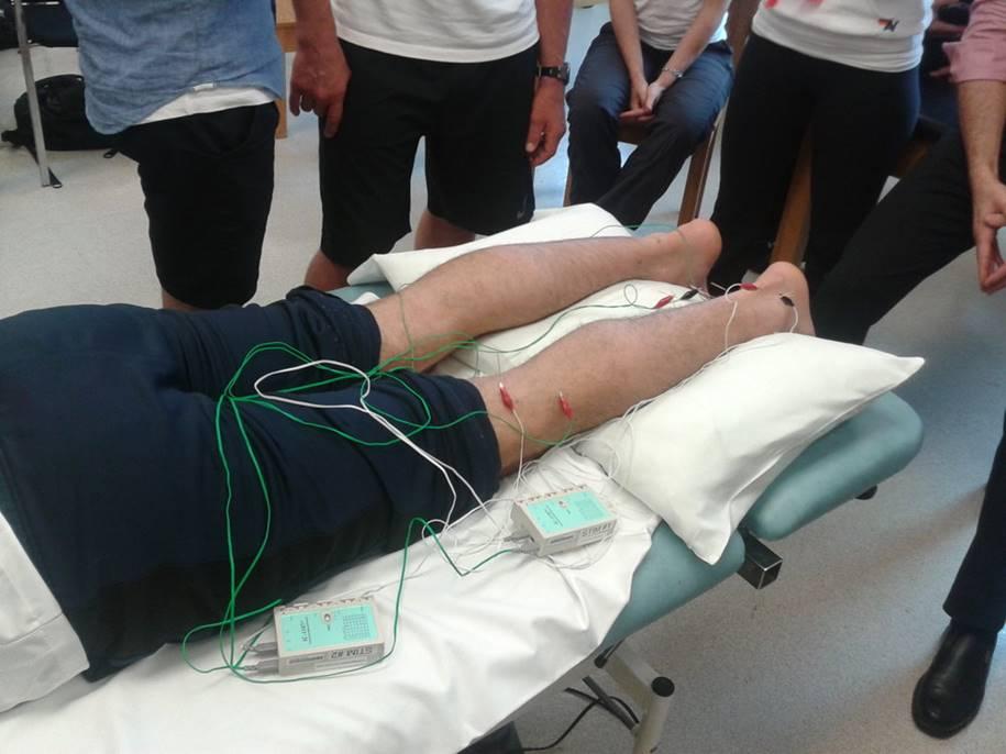 Medicina bioeletrônica - medir os níveis de glicose no sangue