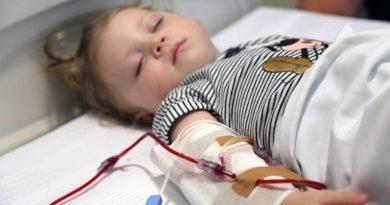 Anemia grave - transfusões de sangue podem reduzir mortes em crianças