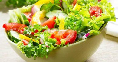Dieta rica em vegetais reduz a fadiga em pacientes com esclerose