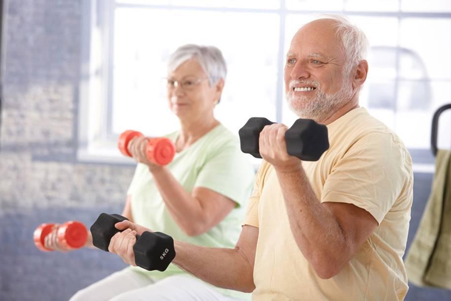 Obesidade na terceira idade - exercicios ajudam a saude