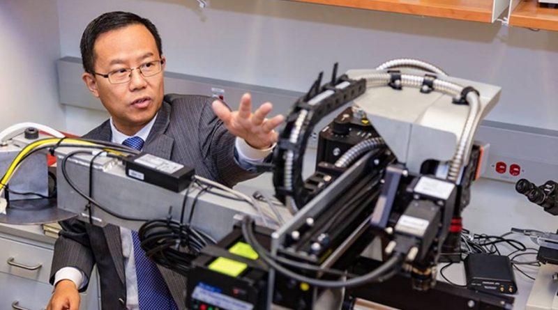 Microscópio cirúrgico hiperespectral ver células do câncer em tempo real