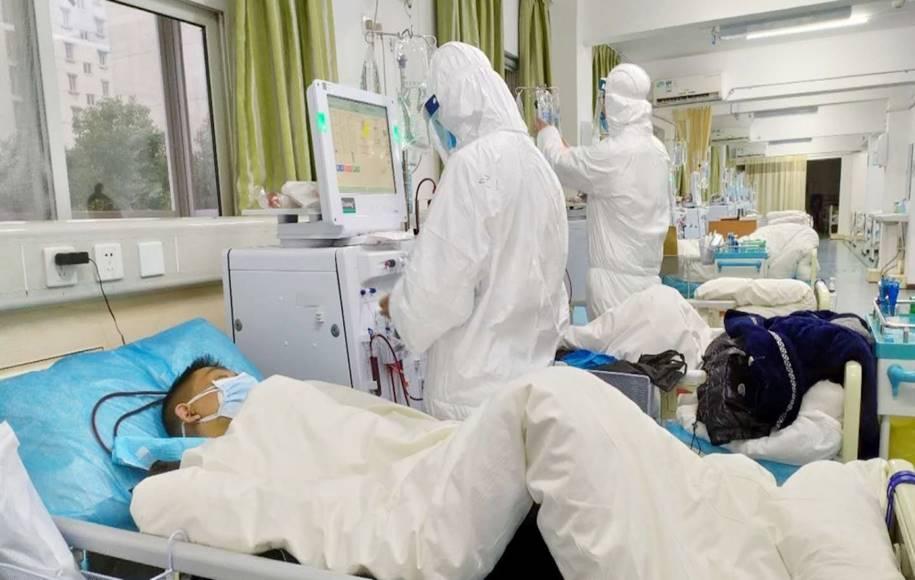 Profissional de saúde na quarentena de coronavírus