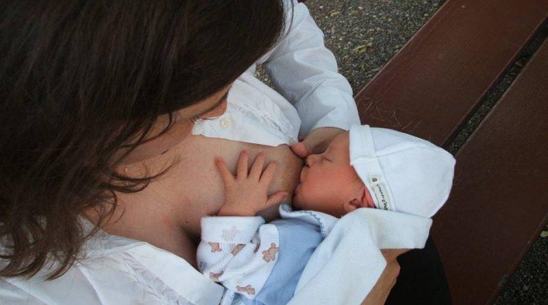Bactérias boas são transferidas do leite materno para o intestino do bebê