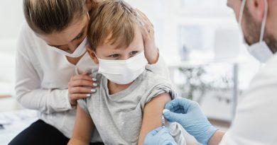 Proteção da vacina contra a gripe com células animais em crianças